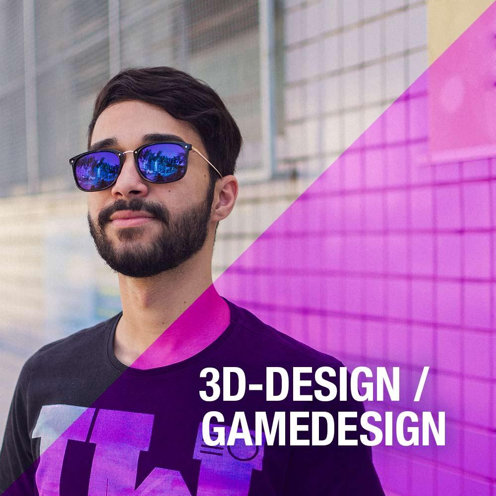 gamedesign 3d ausbildung umschulung berlin